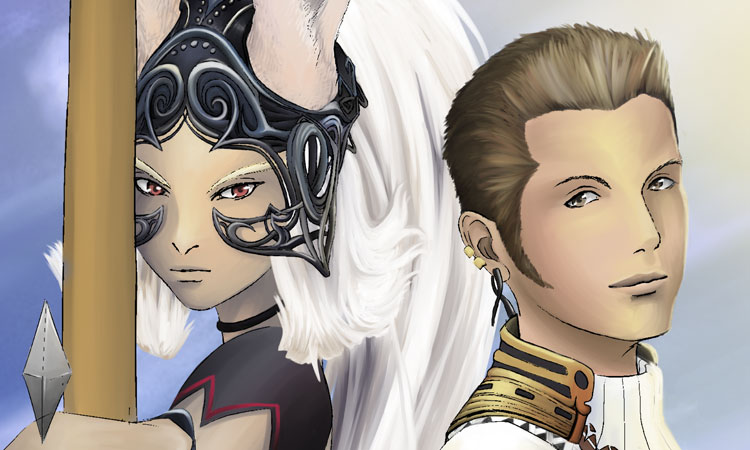 Fran & Balthier - Final Fantasy XII (12) Fan Art