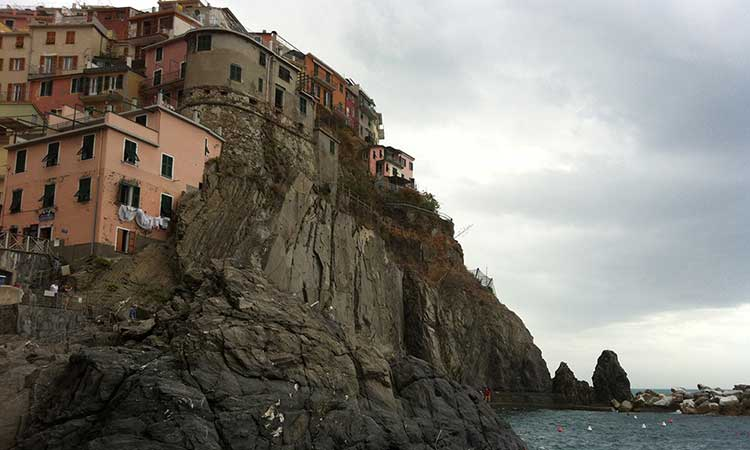 Cinque Terre Cliffside in Italy, the lesser known coastal getaway