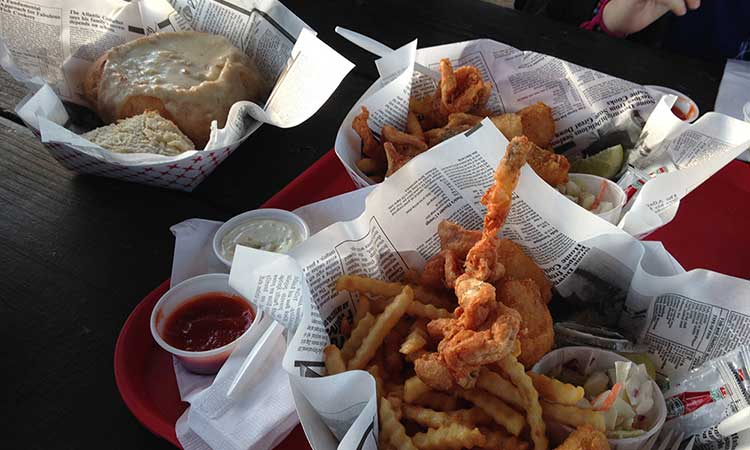fish, chips, clams, best seafood in Coos Bay