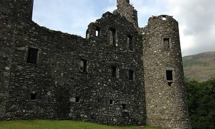 Ruins of Kilchurn Castle